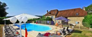 """Gite """"Loëtitia""""pour 6 personnes, avec piscine commune"""